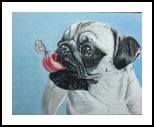 Vodafon, Paintings, Fine Art, Animals, Canvas, By Deppak Sharma