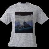 Volcanic island, Paintings, Fine Art, Landscape,Seascape, Canvas,Oil,Painting, By Claudia Luethi alias Abdelghafar
