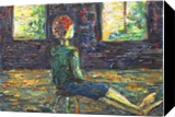 Waiting for a miracle, Paintings, Expressionism,Fine Art,Impressionism,Modernism, Daily Life, Canvas,Oil,Painting, By Kate Mikhatova