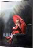 Waiting for the rain, Paintings, Expressionism,Fine Art,Photorealism,Realism,Romanticism, Children,Fantasy,Figurative,Inspirational,People, Oil, By Ivan Pili