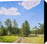 Walk in a Plein Air, Paintings, Photorealism,Realism, Landscape,Nature, Canvas,Oil, By Dejan Trajkovic