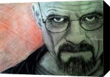 Walter White, Drawings / Sketch, Fine Art, People, Pastel,Pencil, By Paula D Soesbe