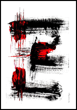 Warning, Paintings, Abstract, Avant-Garde, Acrylic, By Sévi Cabell Maghee