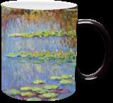 Water Lilies, Paintings, Impressionism,Realism, Landscape, Canvas,Oil, By Liudvikas Daugirdas