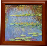 Water Lilies, Paintings, Impressionism,Realism, Landscape, Canvas,Oil, By Liudvikas Daugirdas