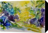 watercolor 412051, Paintings, Expressionism, Landscape, Watercolor, By Pol Henry Ledent