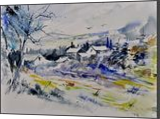 watercolor 413010, Paintings, Impressionism, Landscape, Watercolor, By Pol Henry Ledent