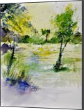 watercolor 413022, Paintings, Impressionism, Landscape, Watercolor, By Pol Henry Ledent