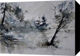 watercolor 413052, Paintings, Impressionism, Landscape,Nature, Painting, By Pol Henry Ledent