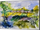 watercolor 414022, Paintings, Expressionism, Landscape, Watercolor, By Pol Henry Ledent