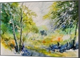 watercolor 414061, Paintings, Expressionism, Landscape, Watercolor, By Pol Henry Ledent