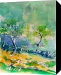 watercolor 416010, Paintings, Impressionism, Landscape, Watercolor, By Pol Henry Ledent