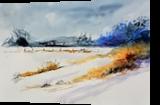 watercolor 516003, Paintings, Impressionism, Landscape, Watercolor, By Pol Ledent