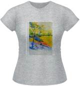watercolor 516082, Paintings, Impressionism, Landscape, Watercolor, By Pol Ledent