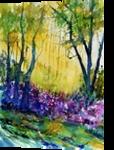 watercolor 517010, Paintings, Impressionism, Landscape, Watercolor, By Pol Ledent