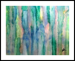 Watercolor Abstract 2, Paintings, Abstract, Avant-Garde, Watercolor, By Nancy K Riedell