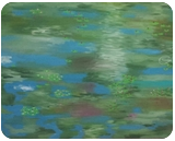 Waterlillies #3, Paintings, Impressionism, Botanical, Oil, By MD Meiser