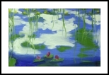 Waterlillies #6, Paintings, Impressionism, Botanical, Oil, By MD Meiser