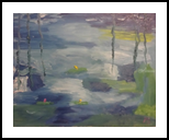 Waterlillies #10, Paintings, Impressionism, Landscape, Oil, By MD Meiser