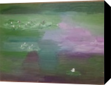 Waterlillies #11, Paintings, Impressionism, Landscape, Oil, By MD Meiser