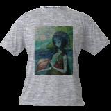 Wave, Decorative Arts,Jewelry,Paintings, Symbolism, Fantasy, Canvas,Oil, By olga zelinska