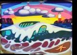 WAVE, Paintings, Modernism, Seascape, Mixed, By Zenon Wladyslaw Rozycki
