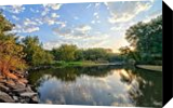 West Fork Bend, Photography, Realism, Landscape, Photography: Metal Print, By Duane Klipping
