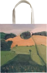 West Sand Valley, Paintings, Impressionism, Landscape, Oil, By MD Meiser