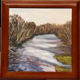 Westfield River, Paintings, Impressionism, Landscape, Oil, By Richard John Nowak
