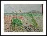 Wheat, Pastel, Impressionism, Landscape, Pastel, By MD Meiser