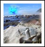 Whispering Spirit of the Ocean, Digital Art / Computer Art, Symbolism, Mythical,Seascape, Digital, By Bernard Harold Curgenven