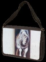 White Horse, Light Stallion, Vintage Wooden Original Painting, Original Art, Paintings, Fine Art,Realism, Animals,Nature, Gouache,Wood, By Temenuzhka Pavlova