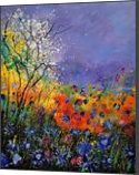 wild flowers 454120, Paintings, Impressionism, Landscape, Oil, By Pol Henry Ledent