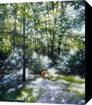 Willow, Paintings, Impressionism, Animals,Daily Life,Environmental art,Landscape, Oil, By Gregg Hinlicky