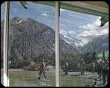 Window to Mountain Zone, Digital Art / Computer Art, Symbolism, Celestial / Space, Digital, By Bernard Harold Curgenven