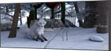 Winter Fox, Digital Art / Computer Art, Fine Art, Animals, Digital, By Kenneth T Parker