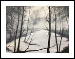 Winter Journey, Paintings, Impressionism, Landscape, Oil, By Stephen Keller