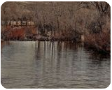 Winter River 1d, Digital Art / Computer Art, Fine Art, Landscape, Photography: Photographic Print, By Jim Stewart