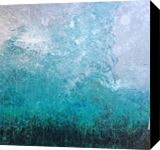 Winter Storm, Paintings, Abstract, Landscape, Acrylic,Canvas, By Kenneth E Parker