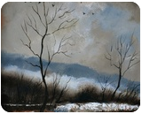 winter4571, Paintings, Impressionism, Decorative, Canvas, By Pol Henry Ledent