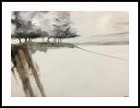 Wintertide's Impression, Paintings, Impressionism, Landscape, Oil, By Stephen Keller