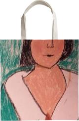 Woman, Pastel, Impressionism, Portrait, Pastel, By MD Meiser