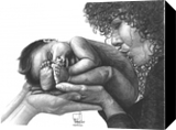 Wonder of Life, Drawings / Sketch,Graphic,Illustration, Fine Art,Realism, Children,Daily Life,Narrative,People,Portrait,Spiritual, Pencil, By Marty Jones