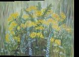 Wrotycz, Paintings, Realism, Botanical, Acrylic, By Władysława Marcinkowska Fedasz