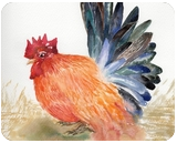 Yes, Worry Chicken, Paintings, Expressionism,Impressionism, Animals, Watercolor, By Thanin Sriwang