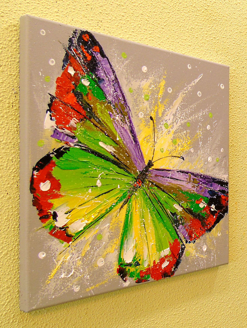 Butterfly Paintings by Olha Darchuk - Artist.com