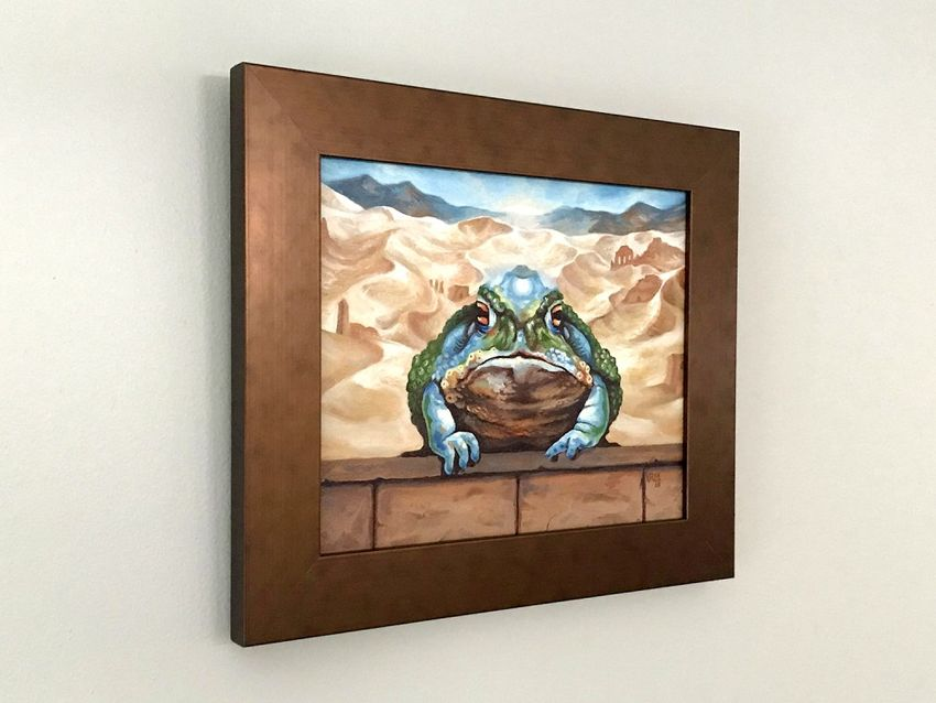 Framed Artwork Side