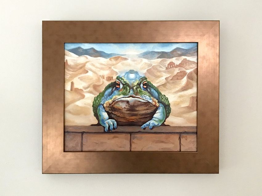 Framed Artwork Front