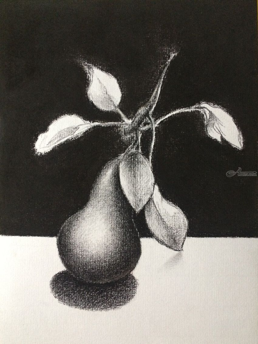 Hope drawings sketch fine art still life charcoal pencil