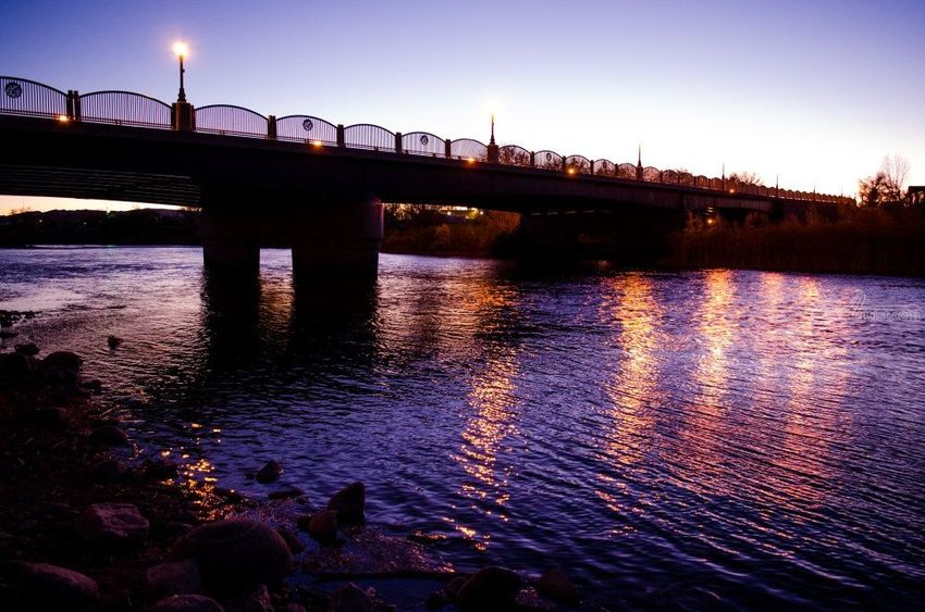 A Wyoming Night River 2, Photography, Fine Art, Landscape, Photography: Photographic Print, By Jim Stewart